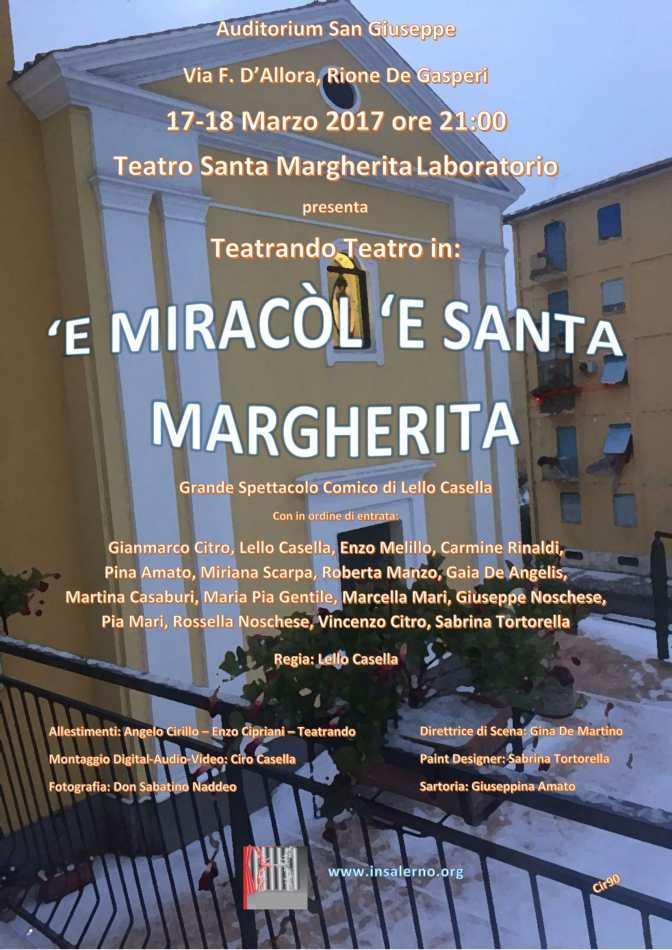 'E Miracòl 'e Santa Margherita