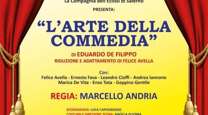 """Al Teatro Arbostella di scena la Compagnia dell'Eclissi con """"L'Arte della Commedia"""" di Eduardo"""