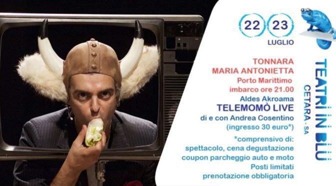 Telemòmò, lunedì 22 e martedì 23 sulla tonnara Maria Antonietta