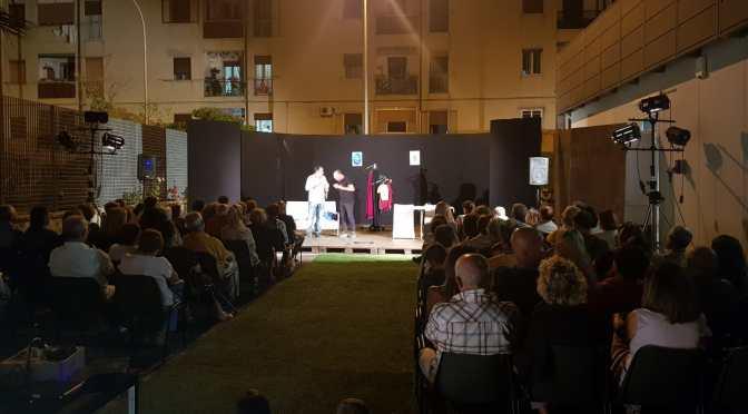 Pubblico numeroso ieri sera all'Arena S. Margherita