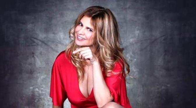 Debora Caprioglio al GIardino degli Aranci per Giffoni Teatro