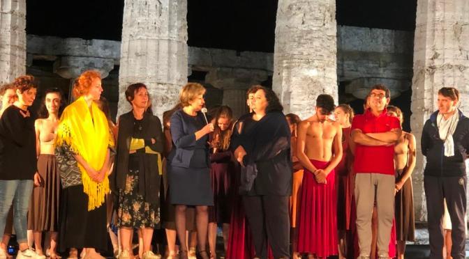 APERTURE SERALI AL PARCO ARCHEOLOGICO DI PAESTUM IN MUSICA